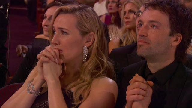 Oscar de 2016  Kate Winslet torcendo por Leo di Caprio