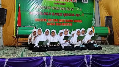 Malam Tirakat Menyambut Tahun Baru Islam 1441, Majlis Ta'lim Miftahul Huda Gelar Mujahadah