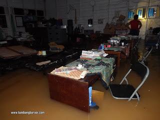 Daftar Sekolah yang terkena Banjir di katingan