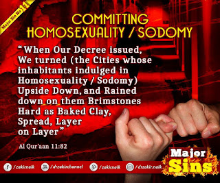 MAJOR SIN. 11. COMMITTING HOMOSEXUALITY / SODOMY | Kabira Gunah