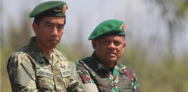 Anak Buah Prabowo: Gatot Nurmantyo Korban Syahwat Politik Joko Widodo