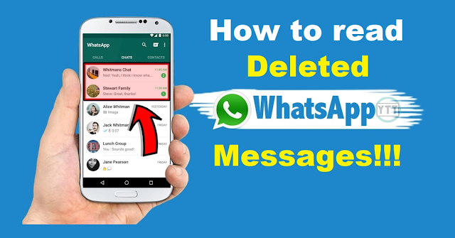 How to read deleted messages in WhatsApp