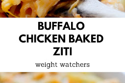 Weight Watchers Buffalo Chicken Baked Ziti