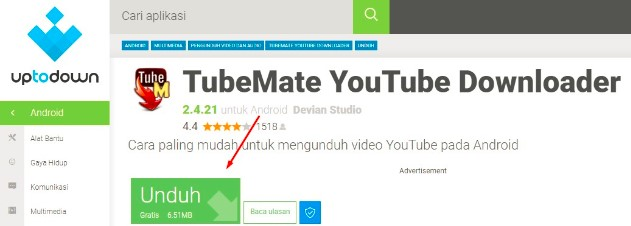 Cara Download Youtube di Android Tanpa Aplikasi