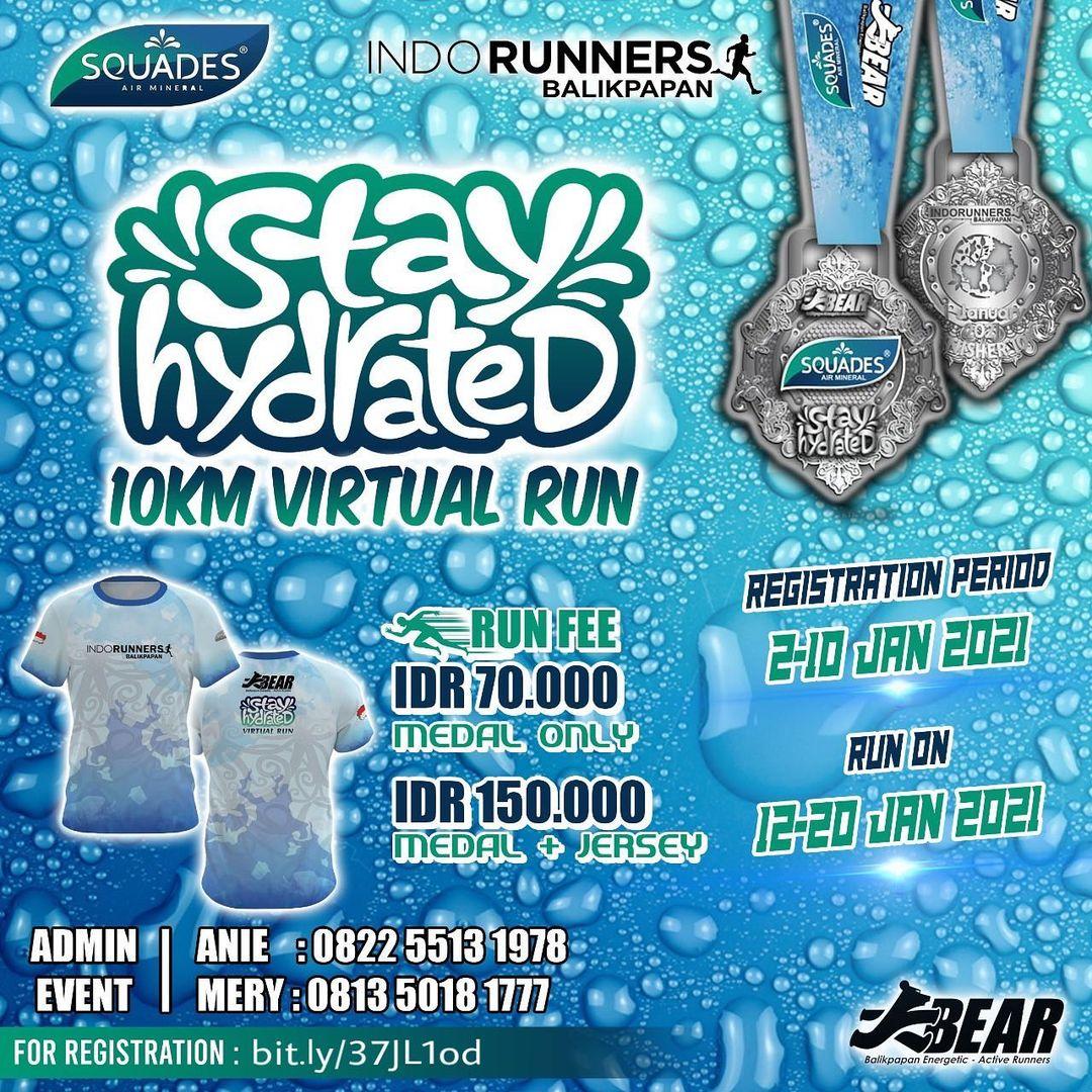 Stay Hydrated Virtual Run • 2021