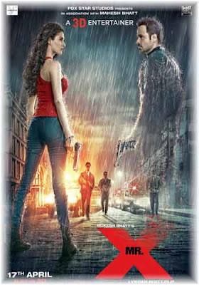 Mr.X 2015 Hindi Movie 400MB HDRip