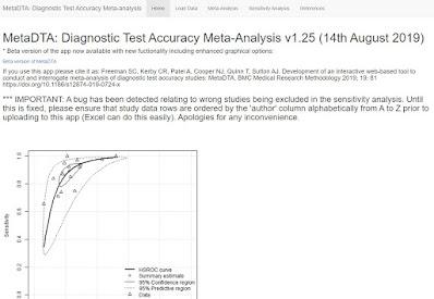 Image of MetaDTA website