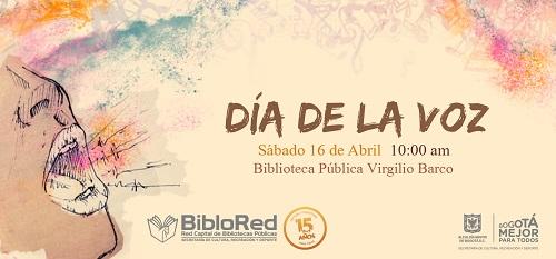 Día de la Voz en Bogotá