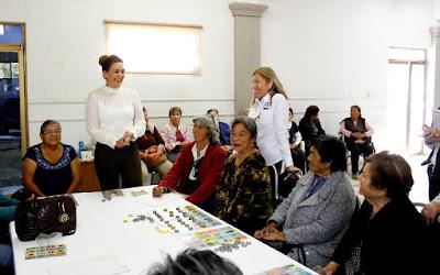 DIF seguirá ofreciendo atención a los adultos mayores de Huatabampo