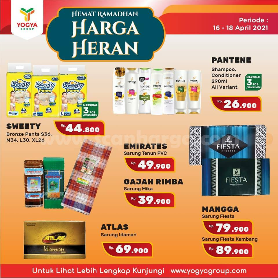 Katalog Promo Toserba Yogya Weekend 16 - 18 April 2021 7