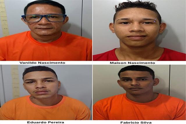 Operação prende bando especializado em roubo de propriedades rurais e caminhonetes