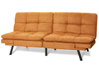 Camel colored futon