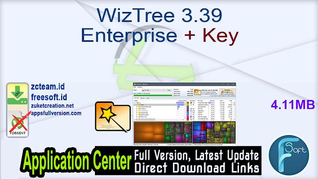 WizTree 3.39 Enterprise + Key_ ZcTeam.id