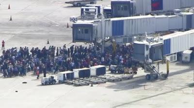 Varias personas muertas y heridas en dos tiroteos aeropuerto de Florida