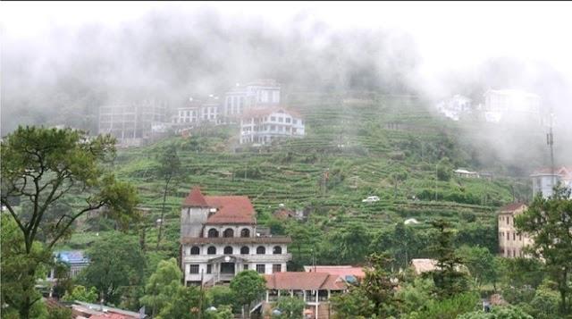 The misty Tam Dao
