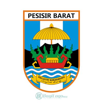 Kabupaten Pesisir Barat Logo Vector