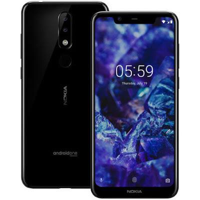 Nokia 5.1 Plus negro