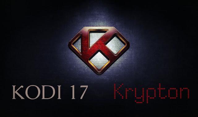 Versión oficial de KODI 17 Krypton