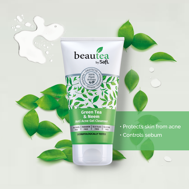 Green Tea & Neem Anti-Acne Gel Cleanser