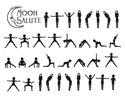 rachel johnston sequence  moon salutations