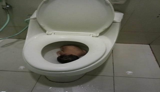Seorang Pelajar Membuang Bayi Laki-Laki yang Baru Dilahirkannya Ke Kloset Toilet Bandara