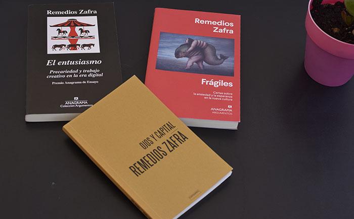 Los tres libros de Zafra sobre creación y capitalismo