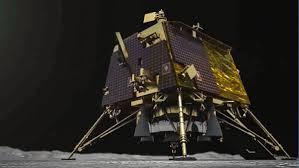 The ISRO chairman reported landing on the moon!