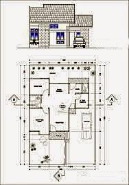 desain rumah type 60 dengan 3 kamar tidur