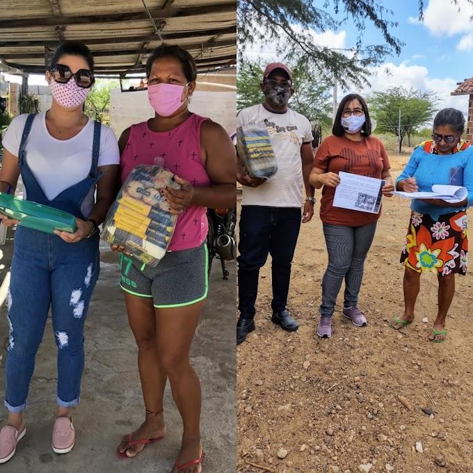 Prefeitura de Fernando Pedroza distribuiu Kits de Merenda Escolar para alunos residentes na zona rural