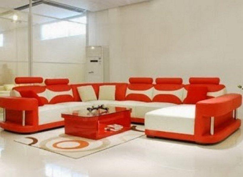 sofa ruang tamu merah 2