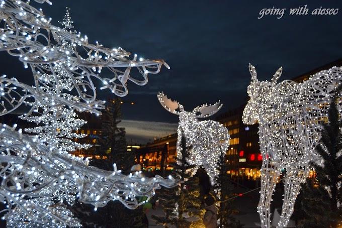 Sztokholm czuje już święta :)