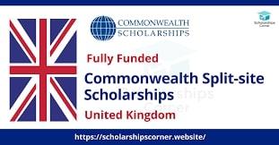 Bourses d'études du Commonwealth sur site divisé 2021-22 au Royaume-Uni