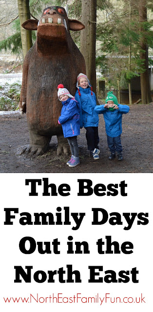 The Best Family Days Out in the North East including The Gruffalo Trail