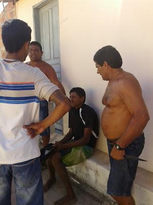 Tutoia-MA : Ladrão é rendido por populares, após é entregue a Policia