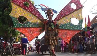 Pawai Agustusan Pejagalan Fair Hibur Warga Kota Pekalongan, Ini Buktinya...
