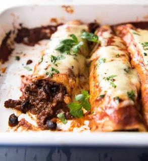 Recipe Beef Enchiladas #beef
