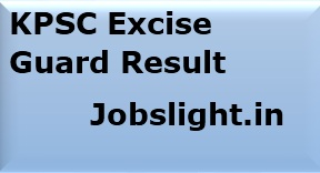 KPSC Excise Guard Result