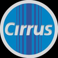cirrus button outline