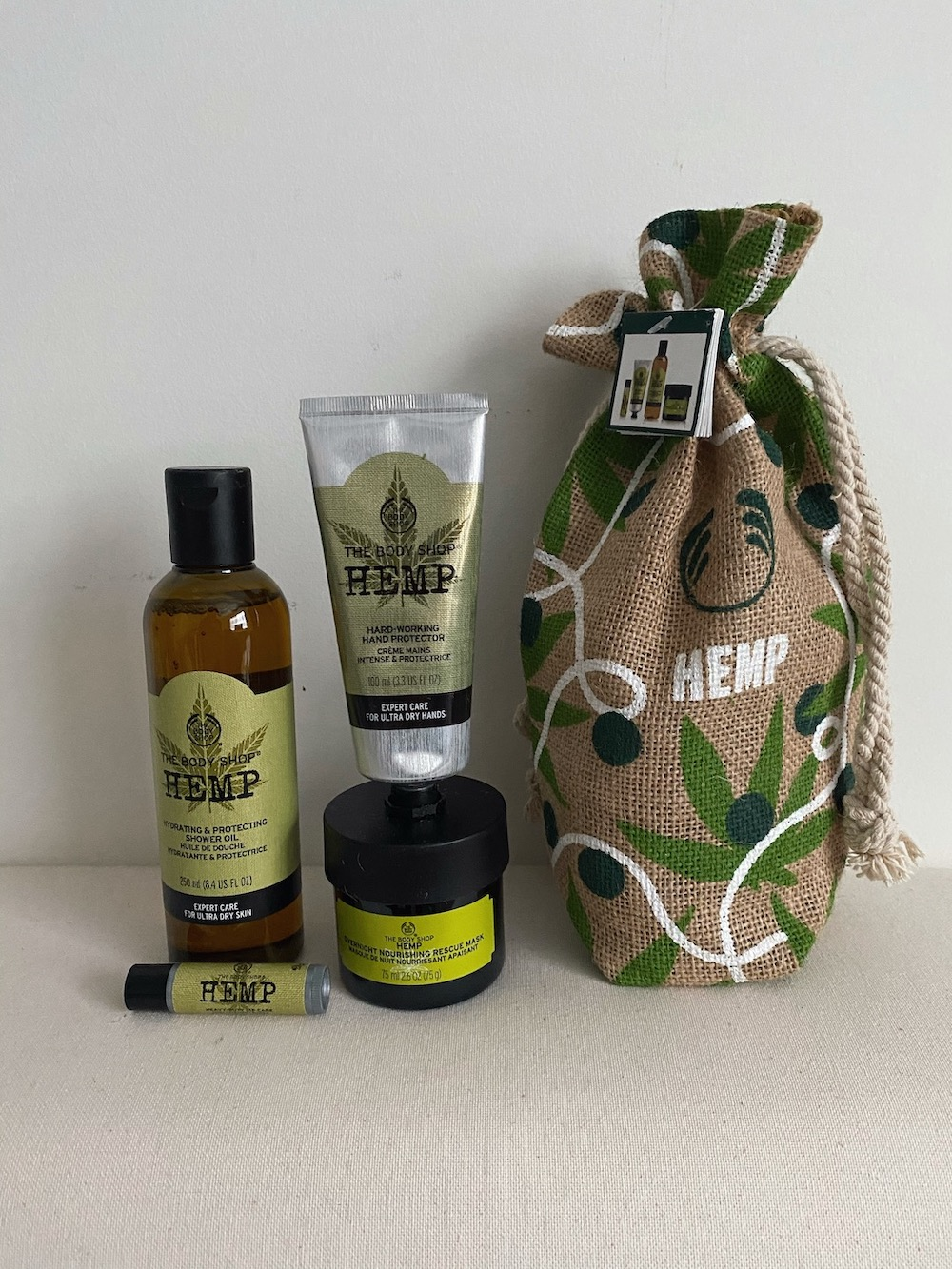 The Body Shop Hemp holiday