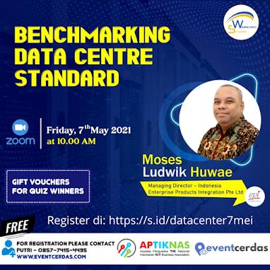 Webinar BENCHMARKING DATA CENTRE STANDARD - 7 Mei 2021