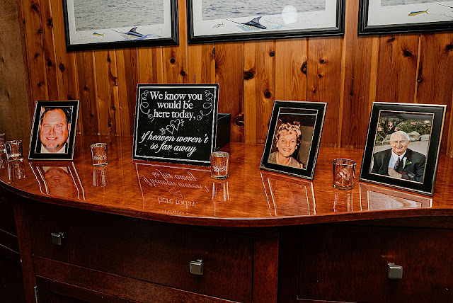 Sentimental table for late family members