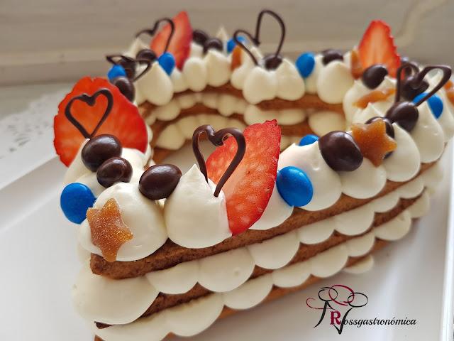 Tarta con corazón