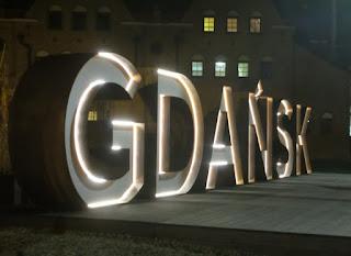 Valokyltti Gdansk Puola