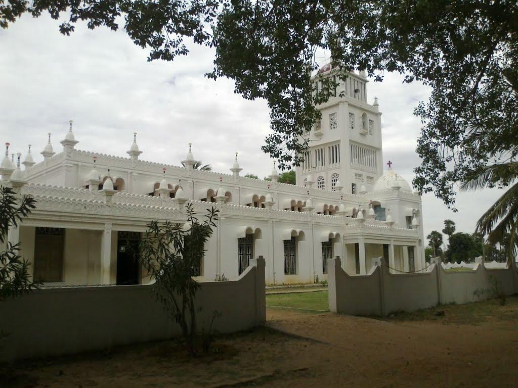 Tamilnadu Tourism: Adaikalamadha Church, Elakurichi, Ariyalur