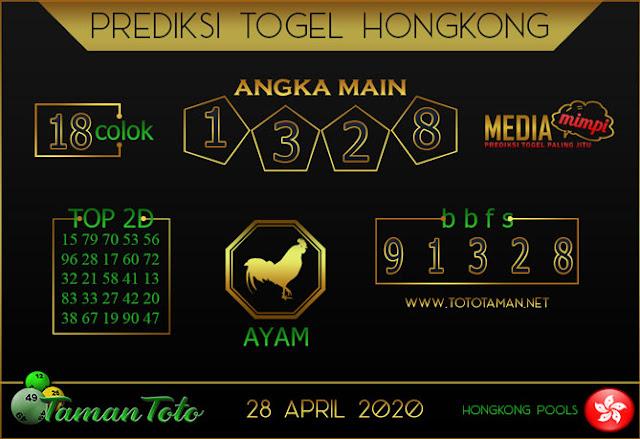 Prediksi Togel HONGKONG TAMAN TOTO 28 APRIL 2020