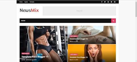 NewsMix Blogger Template Responsivo Free