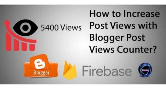 Cara Menampilkan Post Views Counter Blog Amp dan Non Amp