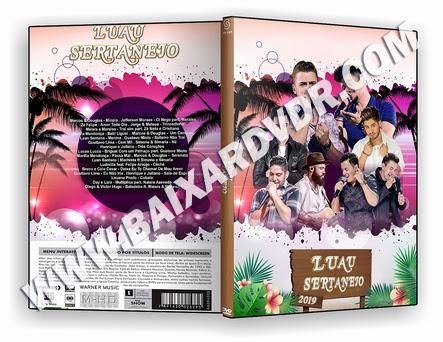 LUAU SERTANEJO (2019) DVD-R