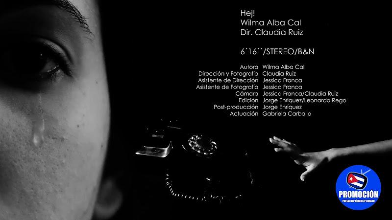 Wilma Alba Cal - ¨Hej!¨ - Videoclip - Directora: Claudia Ruiz. Portal Del Vídeo Clip Cubanao. Música instrumental cubana. Cuba.