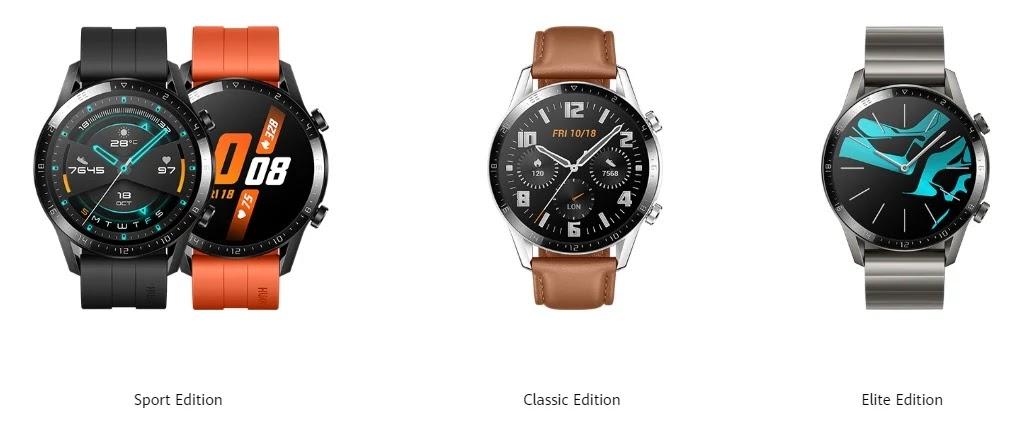 Huawei Watch GT 2 Range of Wearables
